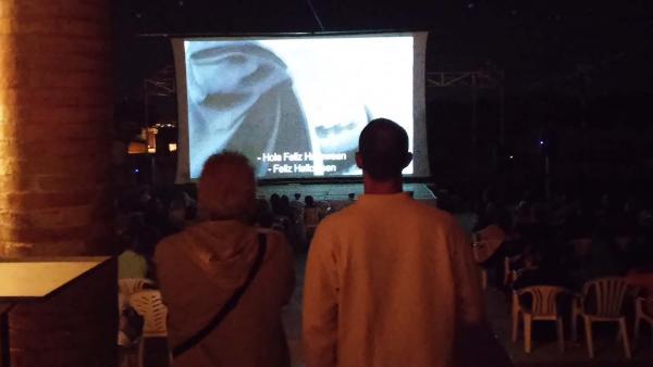 13.07.2014 Les projeccions  Montornès de Segarra -  Ramon Sunyer