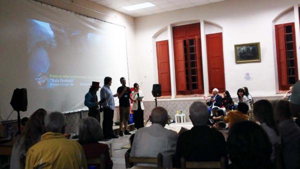 """13.07.2014 """"Bala perduda"""", Premi del jurat al millor curtmetratge de Les Terres de Lleida  Montornès de Segarra -  Ramon Sunyer"""