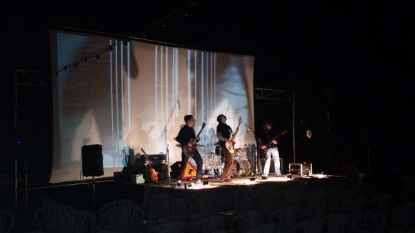13.07.2014 Actuació d'Audiolèpsia  Montornès de Segarra -  Ramon Sunyer