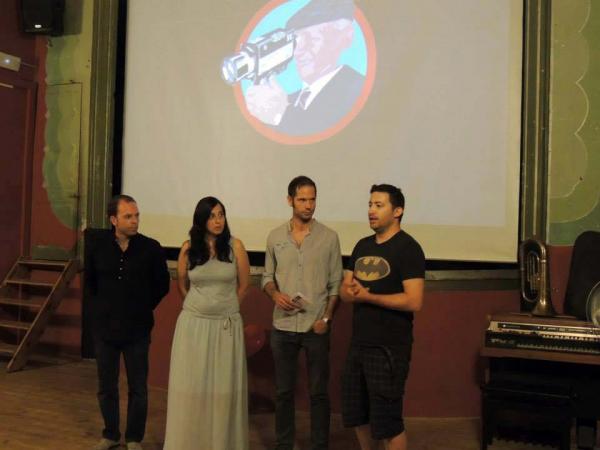 08.07.2014 Projeccions al teatre de Ca l'Eril  Guissona -  Lo Cercacurts