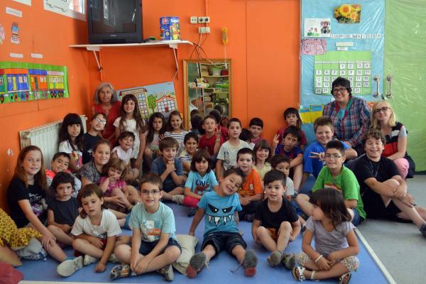 Final de curs a l'escola de Sant Ramon