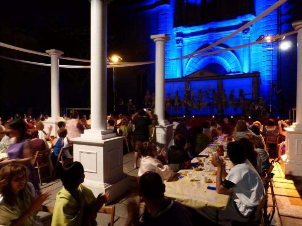 18.07.2014 sopar de la manduca  Guissona -  Ajuntament Guissona