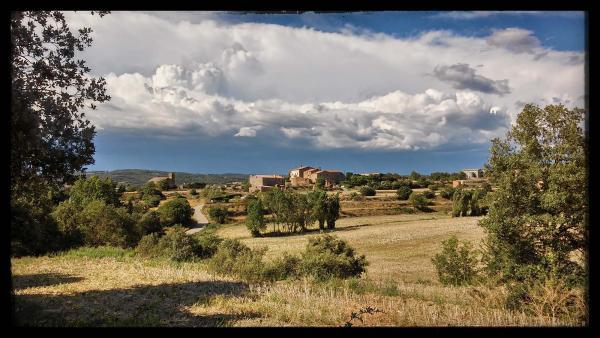 21.07.2014 El poble  Sant Serni -  Ramon Sunyer