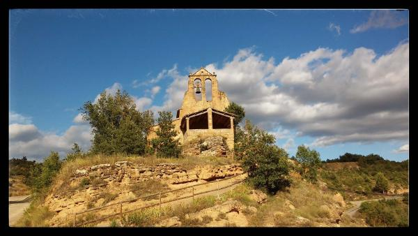 21.07.2014 Church Sant Miquel  197 - Author Ramon Sunyer