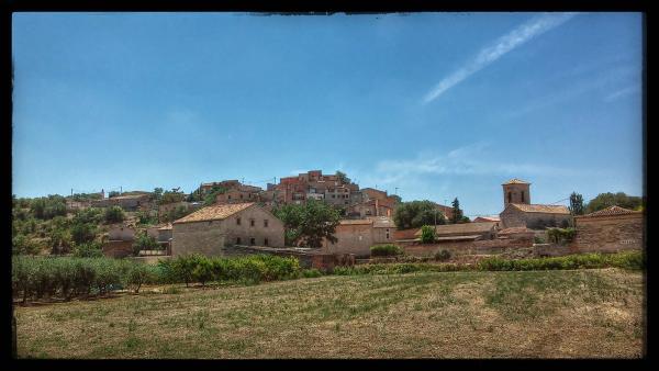 27.07.2014 El poble  Castellnou d'Oluges -  Ramon Sunyer