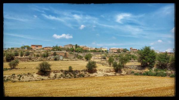 27.07.2014 El poble  Gra -  Ramon Sunyer