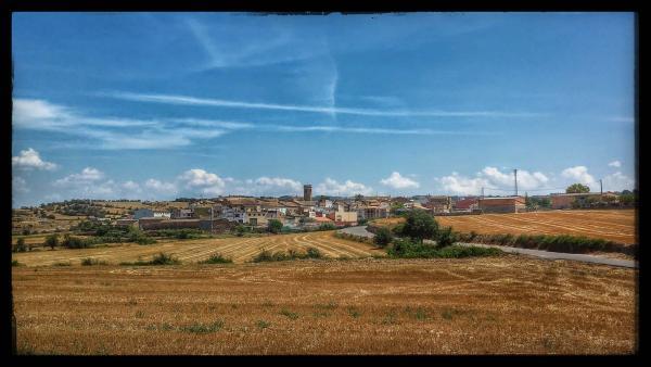 28.07.2014 El poble  Massoteres -  Ramon Sunyer