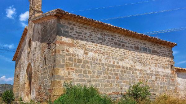 Ermita de  Mare de Déu del Pla o Sant Pelegrí - Autor Ramon Sunyer (2014)