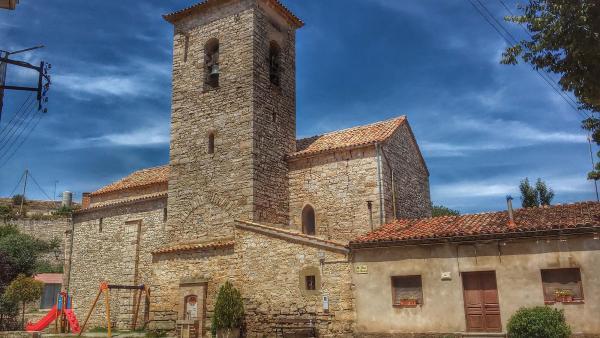 27.07.2014 Església Sant Pere gòtic (XVI)  Castellnou d'Oluges -  Ramon Sunyer