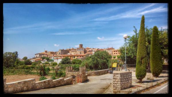 27.07.2014 El poble  Tarroja de Segarra -  Ramon Sunyer