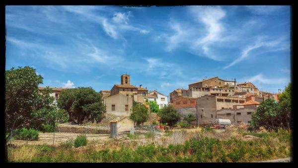 27.07.2014 El poble  Sedó -  Ramon Sunyer