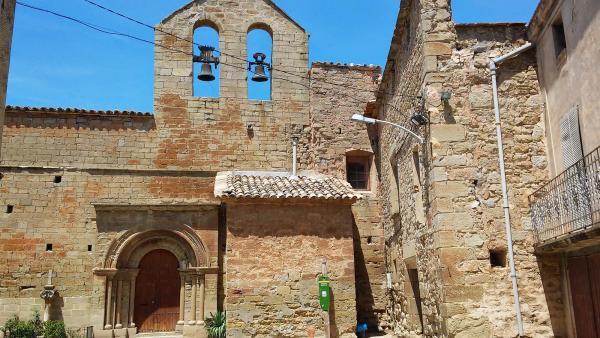 27.07.2014 Església Sant Pere gòtic (XVI)  Concabella -  Ramon Sunyer