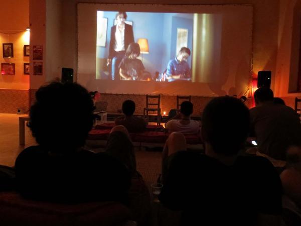 13.07.2014 Les projeccions  Montornès de Segarra -  Lo Cercacurts
