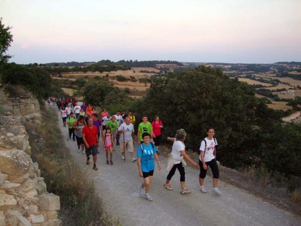 27.07.2014 caminada popular nocturna  Vergós Guerrejat -  Sisco Rubió