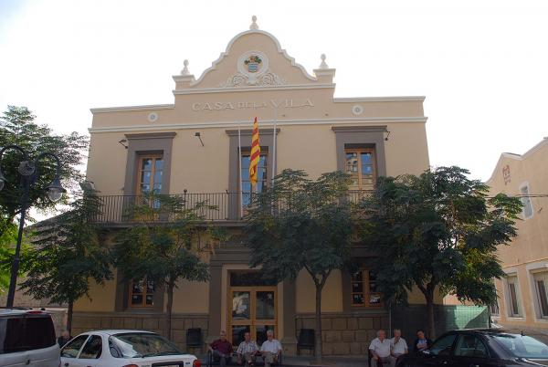 Building  casa de la Vila - Author puigdellivol (2014)