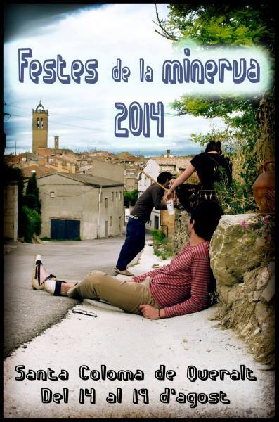 cartell Festes de La Minerva 2014