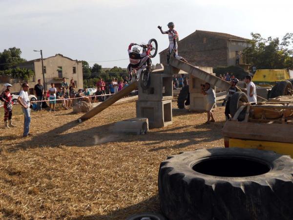 09.08.2014 II exhibició de trial  Sedó -  Ajuntament TiF