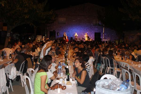 08.08.2014 espectacle de Les Filomenes  Sedó -  Marta Pich