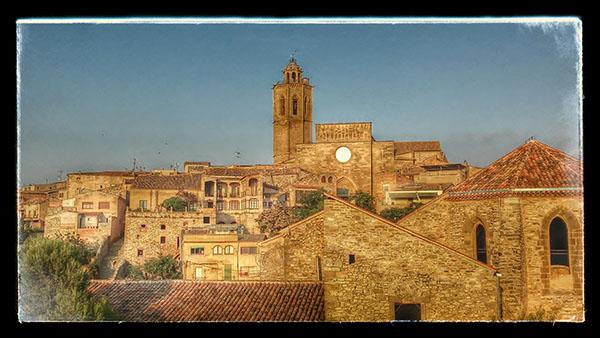 19.08.2014 Església Santa Maria gòtic (XIV, XV)  Cervera -  Ramon Sunyer