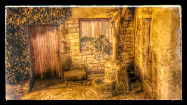 21.08.2014 detall carrer  Sant Guim de la Plana -  Ramon Sunyer