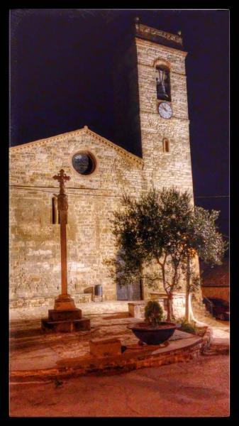 21.08.2014 Església Santa Maria romànic (XIII)  Sant Guim de la Plana -  Ramon Sunyer