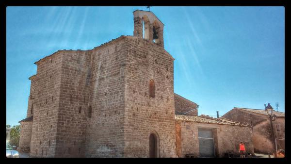 15.08.2014 Església Sant Pere romànic (XII)  Sant Pere del Vim -  Ramon Sunyer