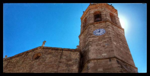 15.08.2014 Església Santa Maria barroc (XII)  Els Prats de Rei -  Ramon Sunyer