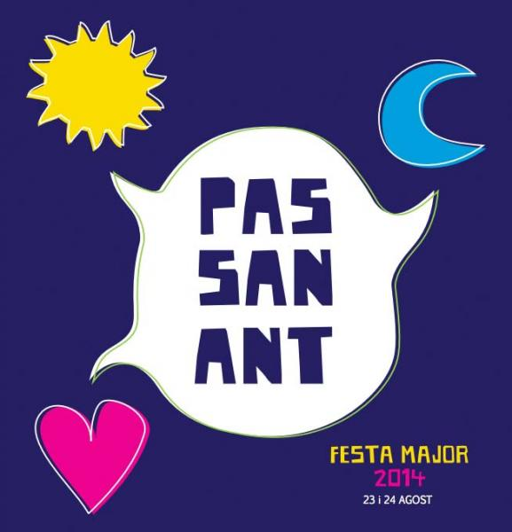cartell Festa Major Passanant 2014