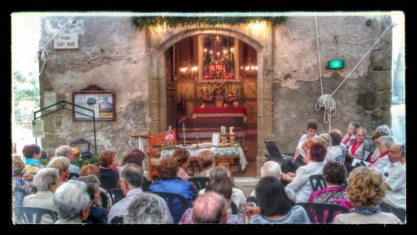 19.08.2014 capella de st Magí  Cervera -  Ramon Sunyer