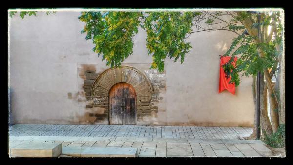 21.08.2014 Església Sant Domènec gòtic (XIV)  Cervera -  Ramon Sunyer