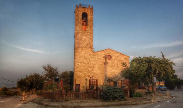 21.08.2014 Església Sant Andreu romànic (XII)  Pujalt -  Ramon Sunyer
