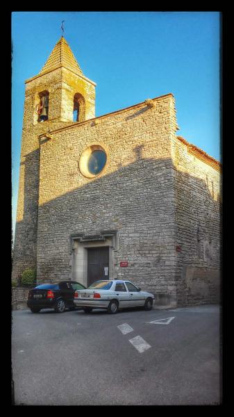 22.08.2014 Ermita Santa Maria gòtic (XIV)  Montmaneu -  Ramon Sunyer