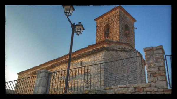 20.08.2014 Església Sant Pere romànic (XII, XVIII)  Sant Domí -  Ramon Sunyer