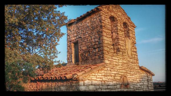 22.08.2014 Santa Maria romànic  El Castell de Santa Maria -  Ramon Sunyer