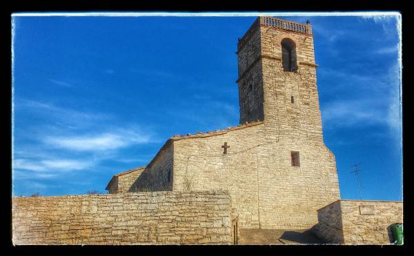 23.08.2014 Església Sant Jaume romànic (XII)  Portell -  Ramon Sunyer