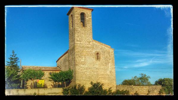26.08.2014 Església Sant Pere romànic (XII)  Santa Fe -  Ramon Sunyer