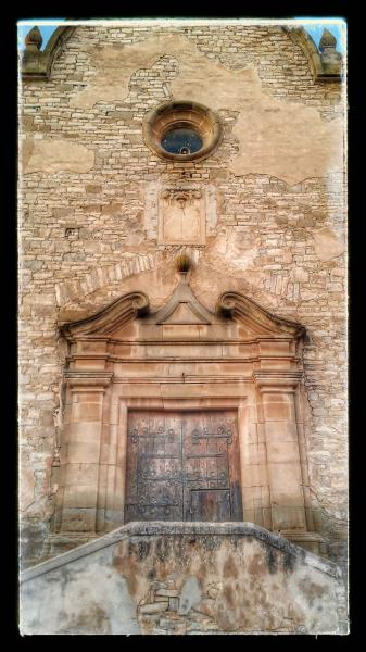 23.08.2014 Església Santa Maria barroc (XVIII)  Les Oluges -  Ramon Sunyer