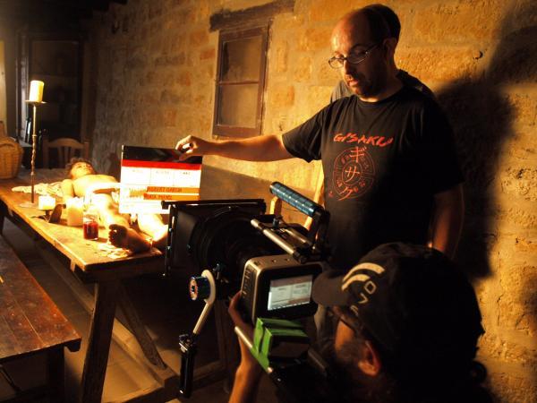 rodatge d'unes escenes al Castell de les Sitges - Florejacs