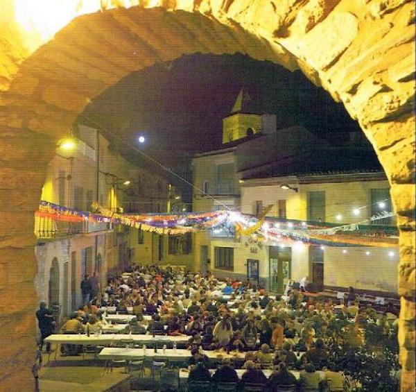 cartell Festa Major Montmaneu 2014