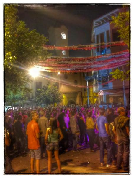06.09.2014 ball a la plaça  Sanaüja -  Ramon Sunyer