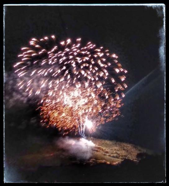 06.09.2014 Castell de focs  Sanaüja -  Ramon Sunyer