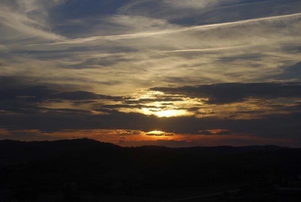 11.10.2014 Posta de sol  L'Aguda -  Ramon Sunyer