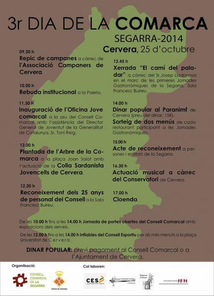 cartell 3r Dia de la Comarca