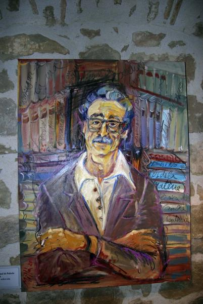 27.10.2014 Retrat de Manuel de Pedrolo  Concabella -  Ramon Sunyer
