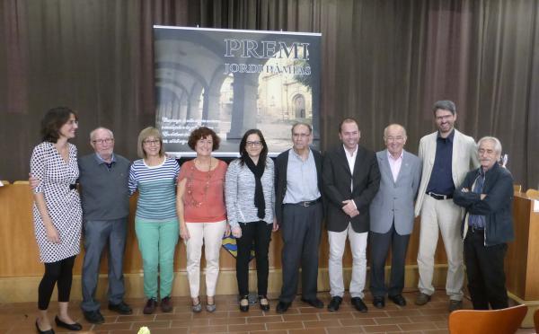 27.10.2014 Montserrat Butxaca, guanyadora de la sisena edició del premi Jordi Pàmias de Poesia  Guissona -  Ajuntament Guissona
