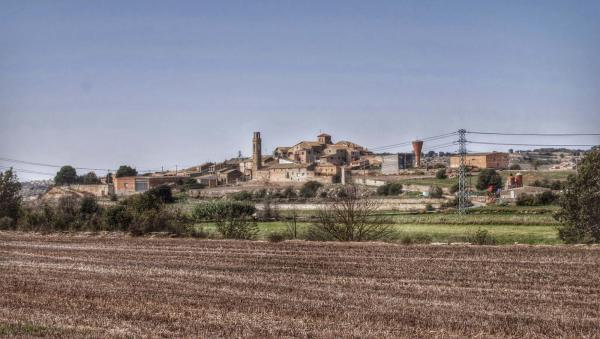 27.10.2014 vista general  Sant Martí de la Morana -  Ramon Sunyer