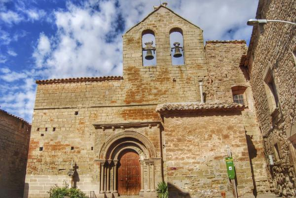 27.10.2014 Església Sant Salvador romànic (XIII)  Concabella -  Ramon Sunyer