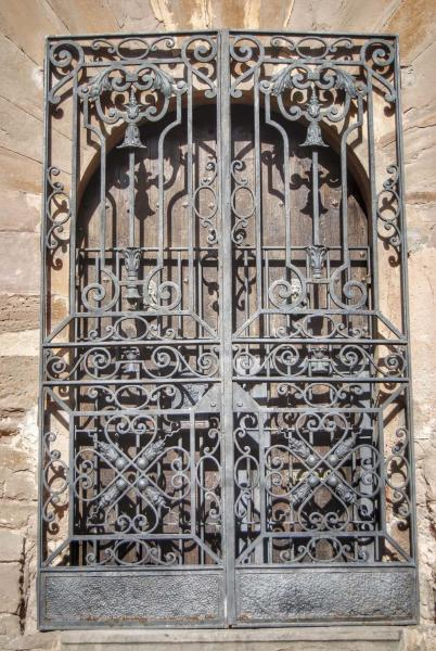 27.10.2014 Porta forjada del castell  L'Aranyó -  Ramon Sunyer