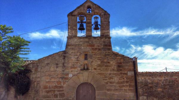 22.09.2014 Església Sant Jaume romànic (XII)  Palouet -  Ramon Sunyer