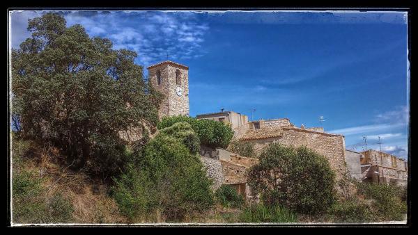 22.09.2014 vista del poble  Comabella -  Ramon Sunyer